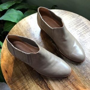 Madewell ankle booties size 5